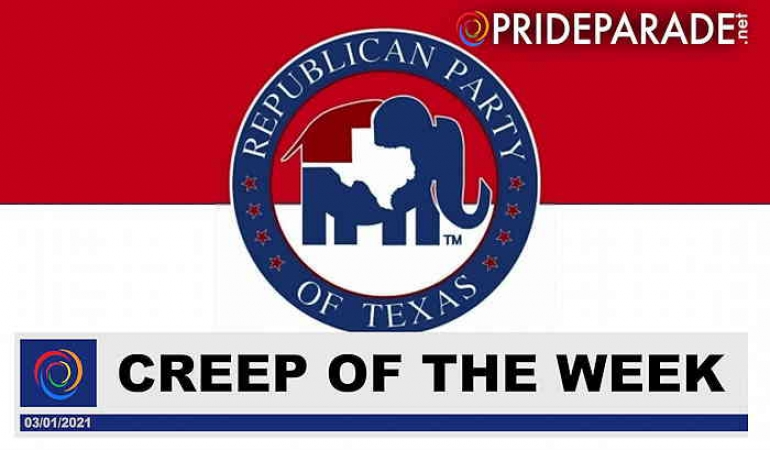 Creep Of The Week: Texas Republicans