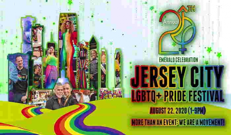 20th Annual Jersey City LGBTQ+ Pride Festival At Pedestrian Mall In Jersey City NJ