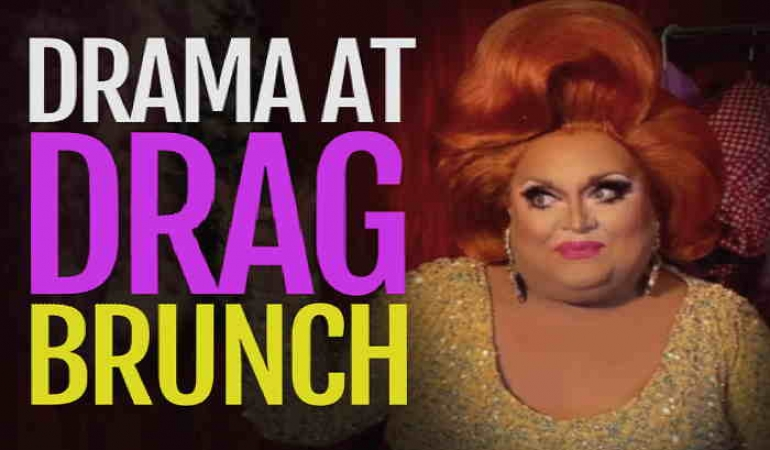 Advertisement: Drama At Drag Brunch: BroadwayMurderMysteries.com