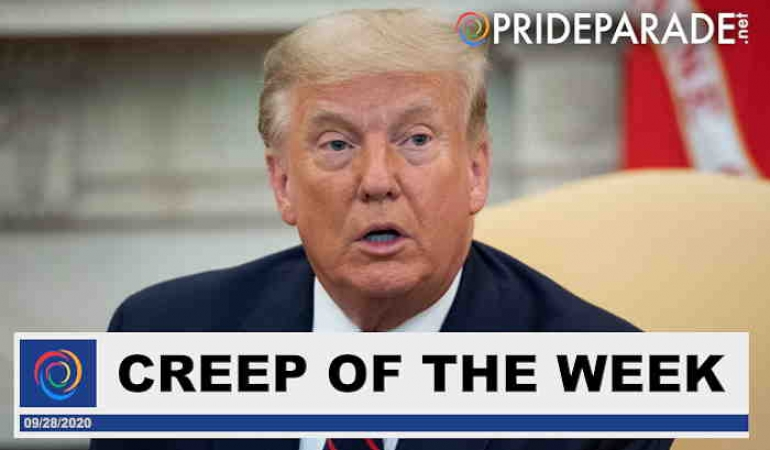 Creep Of The Week: Donald Trump... continued