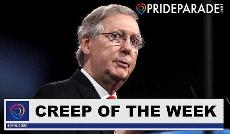 Creep Of The Week: Mitch McConnell